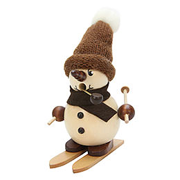 Smoker  -  Snowboy on Ski Natural  -  12cm / 5 inch