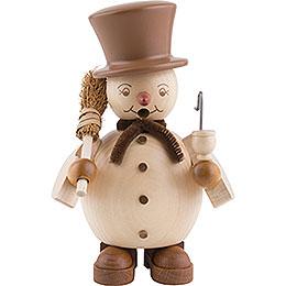 Smoker  -  Snowman  -  14cm / 6 inch