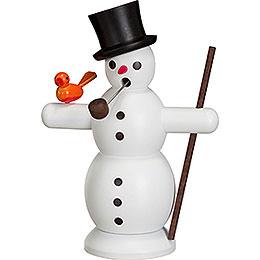 Smoker  -  Snowman  -  16cm / 6 inch