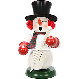 Smoker  -  Snowman with Bass  -  60cm / 24 inch