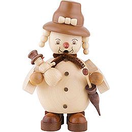 Smoker  -  Snowwoman  -  14cm / 6 inch