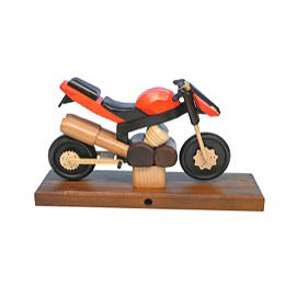 Smoker  -  Sport Motorcycle Orange 27x18x8cm / 11x7x3 inch