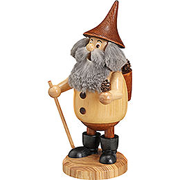 Smoker  -  Timber - Gnome Coneman Natural Colors  -  Hat Brown  -  15cm / 6 inch