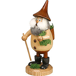 Smoker  -  Timber - Gnome Mossman Natural Colors  -  Hat Brown  -  15cm / 6 inch