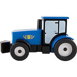 Smoker Tractor  -  Blue  -  12cm / 4.7 inch