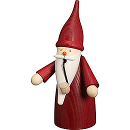Smoker  -  Traditional Gnome Red  -  16cm / 6 inch