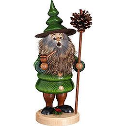 Smoker  -  Tree Gnome Cone Man  -  21cm / 8.3 inch