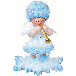 Snowflake with Clarinet  -  5cm / 2 inch