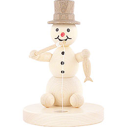 Snowman Ice Fisher  -  8cm / 3.1 inch
