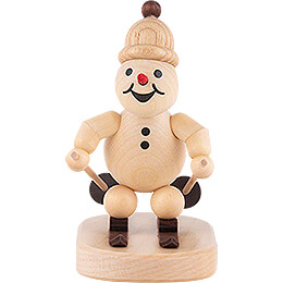 "Snowman  -  Junior ""Downhill""  -  8cm / 3.1 inch"