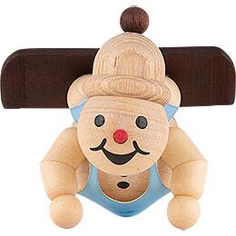 """Snowman  -  Junior Ski Beginner """"Snowboard""""  -  4cm / 1.6 inch"""