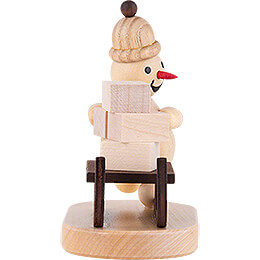 "Snowman  -  Junior ""Sledge Slider""  -  9cm / 3.5 inch"