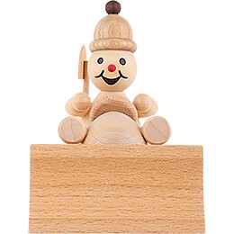 "Snowman  -  Junior ""Snowplough""  -  8cm / 3.1 inch"