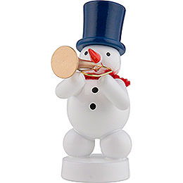 Snowman Musician with Trumpet  -  8cm / 3 inch