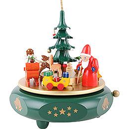 Spieldose Weihnachtsträume  -  17cm