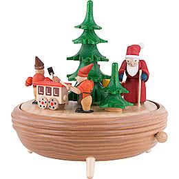 Spieldose Weihnachtswerkstatt  -  18cm