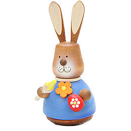 Teeter Bunny with Paintbrush  -  9,8cm / 3.9 inch