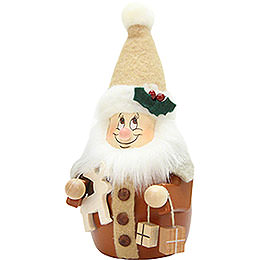 Teeter Gnome Santa Claus Natural  -  15,5cm / 6 inch