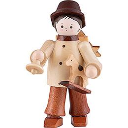 Thiel - Figur Spielzeughändler  -  natur  -  6cm