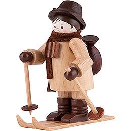 Thiel - Figur Wildhüter auf Ski  -  natur  -  6cm