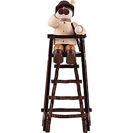 Thiel Figurine  -  Hunter on Deer Stand  -  natural  -  11cm / 4.3 inch