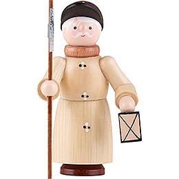 Thiel Figurine  -  Nightwatchman  -  natural  -  6cm / 2.4 inch