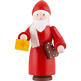 Thiel Figurine  -  Santa Claus  -  coloured  -  6,5cm / 2.6 inch