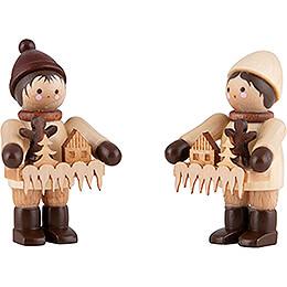 Thiel Figurine  -  Striezel Children  -  natural  -  6cm / 2.4 inch