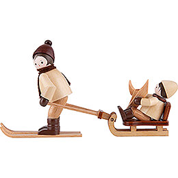 Thiel Figurines  -  Mountain Rescue  -  natural  -  Set of Two  -  6cm / 2.4 inch