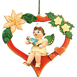 Tree Ornament  -  Angel - Heart - Doll 10cm / 4 inch