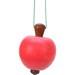 Tree Ornament  -  Apple  -  3,0x4,7cm / 1x2 inch