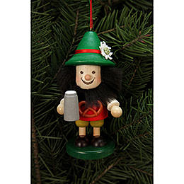 Tree Ornament  -  Bavarian  -  10,5cm / 4 inch