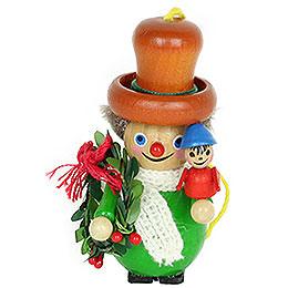 Tree Ornament  -  Bob Cratchit  -  9cm / 3.5 inch