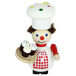 Tree Ornament  -  Cup Cake Maker  -  9cm / 3.5 inch