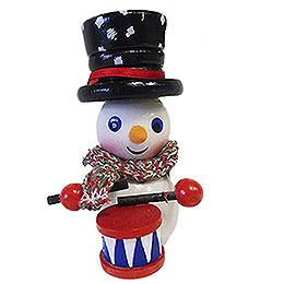Tree Ornament  -  Drummer Snowman  -  9,5cm / 3.7 inch