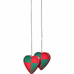"Tree Ornament  -  ""Hearts""  -  3cm / 1.2 inch"