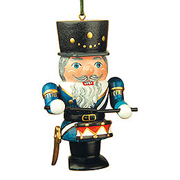 Tree Ornament  -  Nutcracker Drummer  -  7cm / 3 inch
