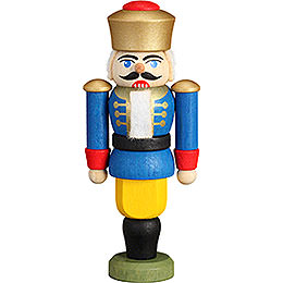 Tree Ornament  -  Nutcracker  -  King Blue  -  9cm / 3.5 inch