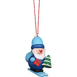 Tree Ornament  -  Santa Claus Blue  -  5,3cm / 2.1 inch