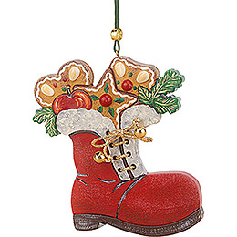 Tree Ornament  -  Santa's Boot   -  8cm / 3.1 inch