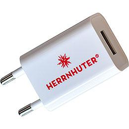 USB - Steckernetzteil zur Beleuchtung von 1 - 2 Sternen 29 - 00 - A1E/29 - 00 - A1B