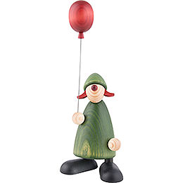 Well - Wisher Lina with Balloon  -  17cm / 6.7 inch
