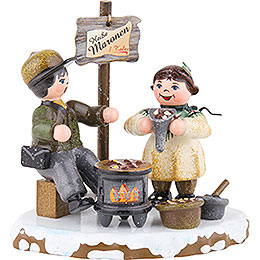 Winter Children Hot Chestnuts  -  8cm / 3 inch