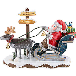 "Winter Children ""Santa Claus is Coming to Town""  -  8cm / 3.1 inch"
