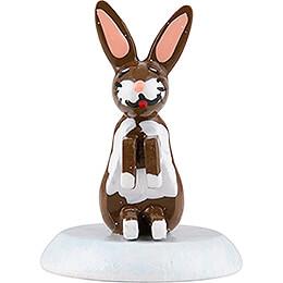 Winter Children Set of Six Rabbit  -  1,5cm / 0,5 inch
