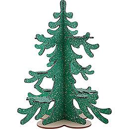 Winterbaum für Räuchereulen und Mini - Eulen  -  42cm